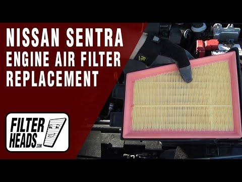 Engine Air Filter for 2007 2008 2009 2010 2011 2012 Nissan Sentra L4 2.0L