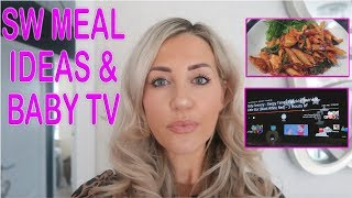 Slimming World Meal Ideas & The Best Baby Sensory TV