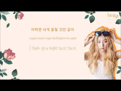 RED VELVET 레드벨벳 - Would U 우쥬 Color-Coded-Lyrics Han l Rom l Eng 가사 by xoxobuttons
