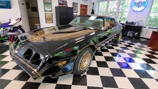 9,241 Mile 1981 Pontiac Trans Am Bandit For Sale~Best in the Country~Plastic on Seats~Original Tires