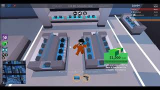 Robbing bank with G | Jailbreak | /w G | ROBLOX