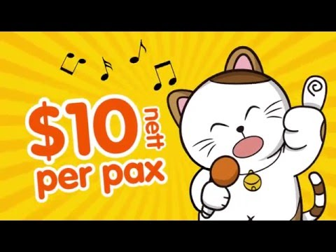 Japan Top Karaoke Manekineko Grand Opening Promotion