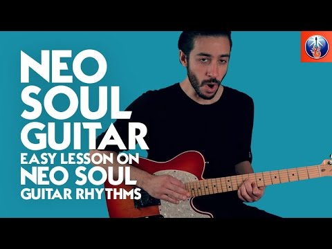Neo Soul Style Chord Progression - Rhythm Guitar Lesson on Guitar Progressions