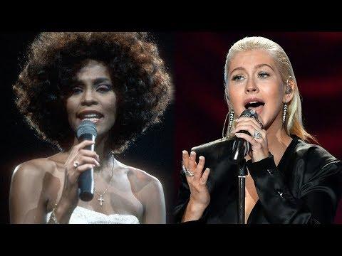 Christina Aguilera Pays Tribute To Whitney Houston At 2017 AMAs Mp3