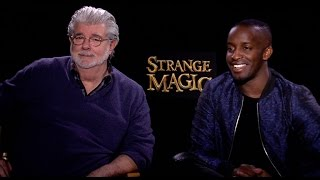 Strange Magic Interview: George Lucas & Elijah Kelley