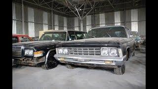 СРОЧНО: В Москве обнаружили склад с очень редкими авто еще со времен СССР
