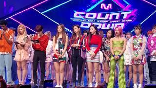 [FANCAM] 190425 Mnet 엠카운트다운 M! Countdown Live Ending Stage (TWICE Focus)