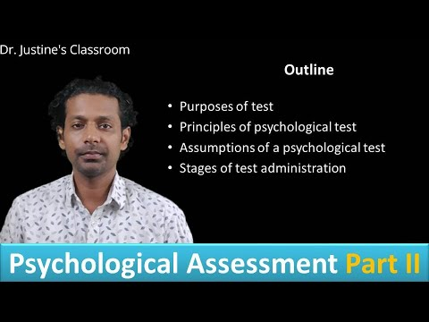 Principles, Purpose, Assumptions And Stages Of Psychological Testing || NET (psychology)