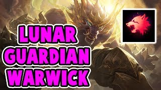 NEW LUNAR GUARDIAN WARWICK SKIN | FASTEST CHAMP IN THE GAME | OP SPEED | League of Legends