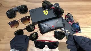 Ray Ban Ferrari Collection - Обзор