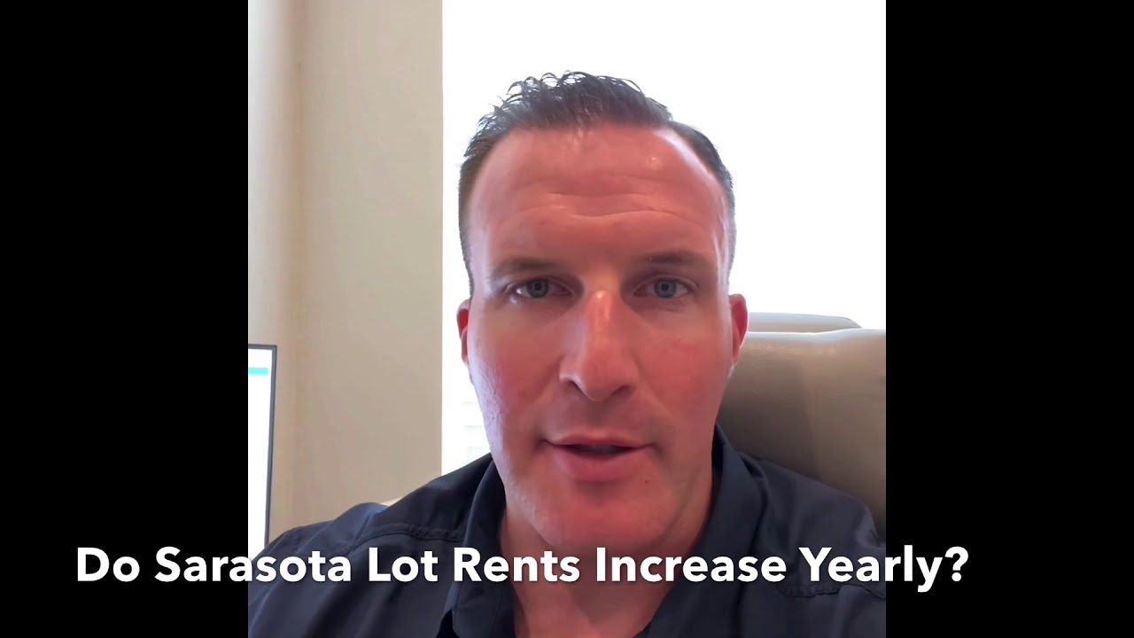 Do Sarasota Lot Rents Always Go Up?