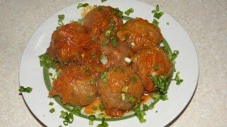 ТЕФТЕЛИ в томатном соусе.
