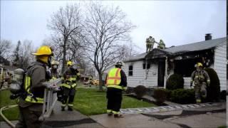 City of Tonawanda NY Structure Fire - 53 Coronet dr