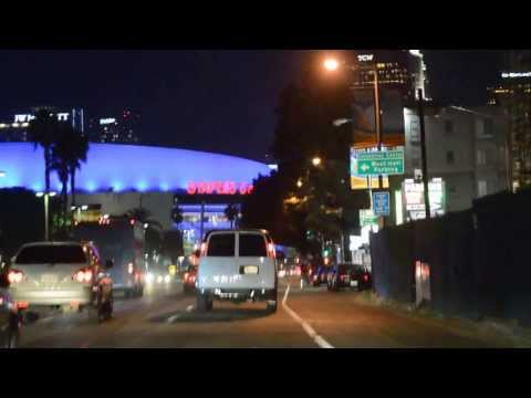 Downtown Los Angeles 2014 ,Staples Center
