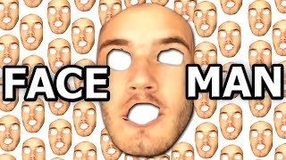 FACEMAN - The Man With A Million Faces.