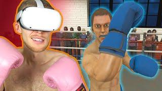 Tämä nyrkkeily simulaattori on liian aito..