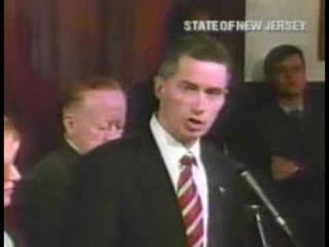 Governor McGreevey Resigns