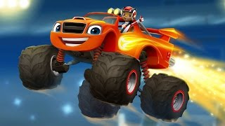 Blaze And The Monster Machines Racing Cars Game For Kids. Race Game Full Episode For Boys