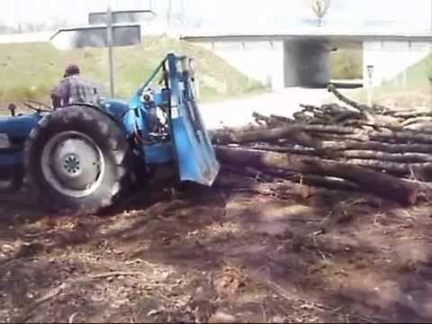 treuil forestier bulldozer