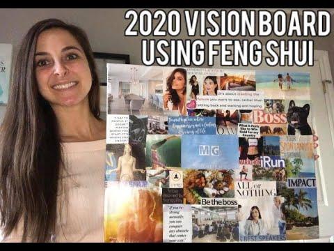 2020 Vision Board Using Feng Shui