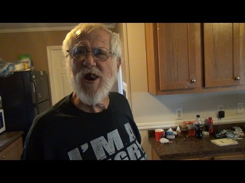 DINNER WITH ANGRY GRANDPA!