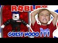 GETTING BULLIED BY EVIL GUESTS In ROBLOX GUEST OBBY 2