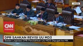 DPR Sahkan Revisi UU MD3, Ini Respons KPK