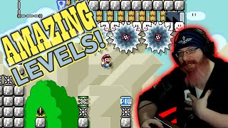 REALLY AMAZING LEVELS! | Super Mario Maker 2 Top 5 Super Expert Levels with me, Oshikorosu!