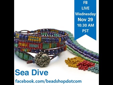 FB Live beadshop.com Facebook Live Sea Dive Lessons in Laddering
