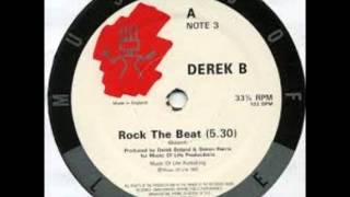 DEREK B , ROCK THE BEAT LINDENS DANGEROUS DUB