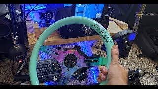Forza 7 open Drift lobby LIVE / Fanatec wheel cam /