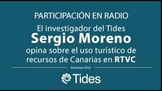 El investigador del Tides Sergio Moreno opina sobre el uso turístico de recursos de Canarias en RTVC