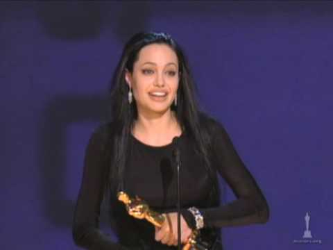 Angelina Jolie Wins Supporting Actress: 2000 Oscars