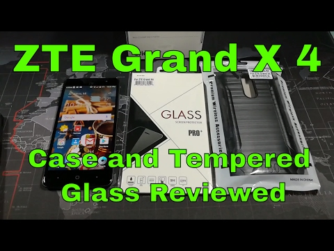 ZTE Grand X 4 - Tempered Glass and Case - Reviewed