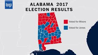 How Alabamians voted in the Senate election