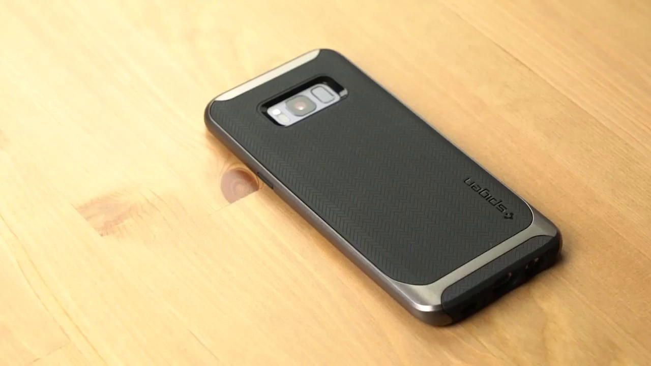 on sale d8c56 0b55a Samsung S8 / S8 Plus Spigen Neo Hybrid Case - YouTube