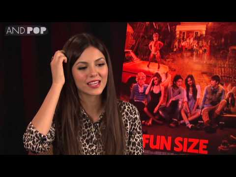 Victoria Justice Interview: sexy Halloween costumes and Fun Size