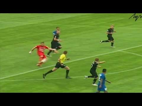 Goalkeeper scores amazing goal in Belarus for Krumkachy
