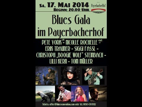 Blues & Dance Inspiration Days im Payerbacherhof mit Pete York!