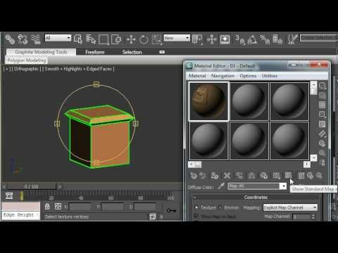 3ds Max Tutorial - End Table Model with Texture