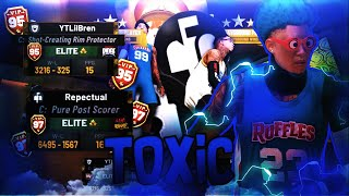 I Destroyed the MOST TOXIC & UNBEATABLE LINE UP IN NBA2K19!