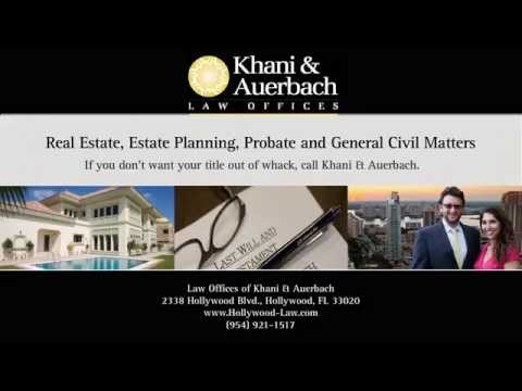Ft Lauderdale | South Florida REAL ESTATE LAW FIRM Commercial Residential PROPERTY