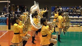 京都橘高校吹奏楽部 @2018-19 V.LEAGUE 滋賀大会 / Kyoto Tachibana Senior High School Band  [Pure 4k]