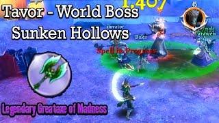 Order & Chaos 2: Redemption World Boss Tavor LvL 45 - Sunken Hollows