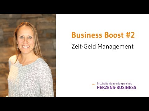 Business Boost #2 Zeit-Geld Management