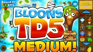 Bloons Tower Defense 5: Odyssey Mode on Medium Part 1