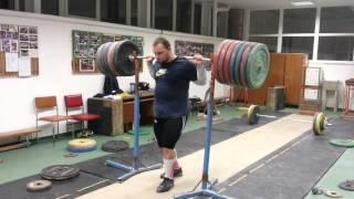 Jiri Orsag 320kg back squat RAW