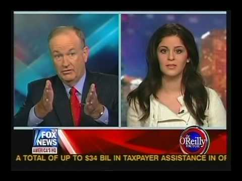 Lila Rose with Bill O'Reilly on Planned Parenthood Abuse Coverup Scandal