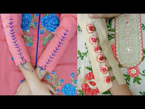 Creative and very latest 2  sleeves designs making