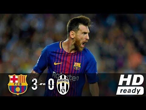 Barcelona vs Juventus 3-0 - Highlights & Goals - 12 September 2017 HD-